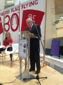 Ted Knight gives his speech at Radical Lambeth, the 30th anniversary of the rate capping struggle